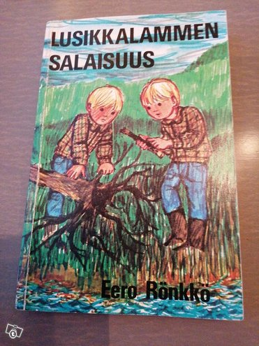 Lusikkalammen salaisuus kirja