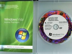 Windows Vista 64 bit. Fin + Ohjekirja DVD kotelo, Tietokoneohjelmat, Tietokoneet ja lisälaitteet, Tampere, Tori.fi