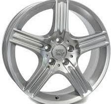 9X18 5X112 ET54 KR66.6 WSP Italy W763 DIONE silver, Renkaat ja vanteet, Raahe, Tori.fi