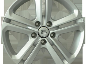 7X17 5X112 ET49 KR57.1 WSP Italy VW GHEDI W467, Renkaat ja vanteet, Raahe, Tori.fi