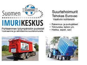 Eurovac kontti-imuri, Muut koneet ja tarvikkeet, Työkoneet ja kalusto, Pomarkku, Tori.fi