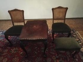 Chippendale tuolit, rahi ja pöytä, Antiikki ja taide, Sisustus ja huonekalut, Mäntyharju, Tori.fi