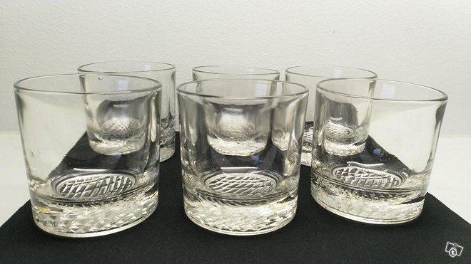 Riihimäen lasi flindari lasit, 15 cl, 6 kpl
