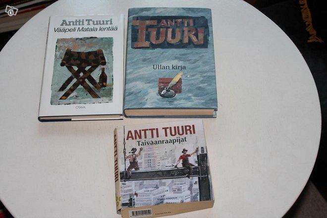 Antti Tuuri Kirjoja