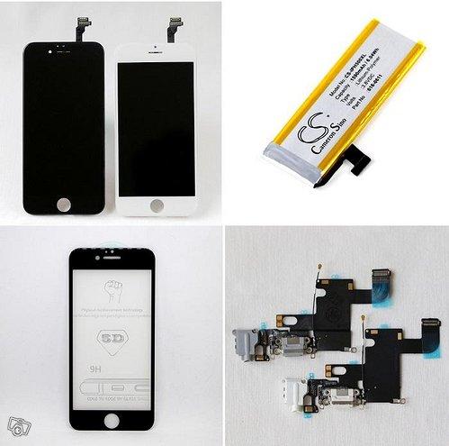 IPhone näyttö/akku - kaikki mallit - takuu 1 v