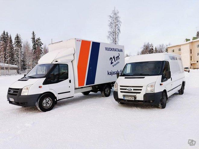Muutot ja kuljetukset kaikkialle Suomeen