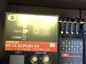 Omron Safery network controller NE1A-SCPU01-V1, Muu tietotekniikka, Tietokoneet ja lisälaitteet, Ruovesi, Tori.fi