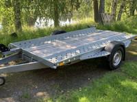 Kippaava traileri kant. 1350kg