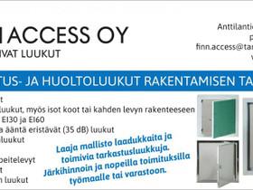 Tarkastusluukut, paloluukut, lattialuukut ym, Liikkeille ja yrityksille, Jyväskylä, Tori.fi