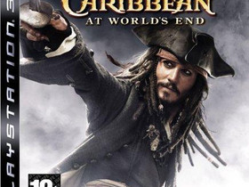Pirates of The Caribbean At Worlds End PS3, Pelikonsolit ja pelaaminen, Viihde-elektroniikka, Lahti, Tori.fi