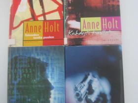Anne Holt neljä kirjaa, Imatra/posti, Kaunokirjallisuus, Kirjat ja lehdet, Imatra, Tori.fi