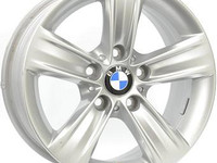 7.5X16 5X120 ET37 KR72.6 BMW STYLE 391 silver DEMO