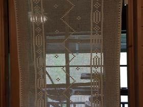 Virkattu oviverho tai pöytäliina 70 cm (lev), 115, Matot ja tekstiilit, Sisustus ja huonekalut, Heinola, Tori.fi