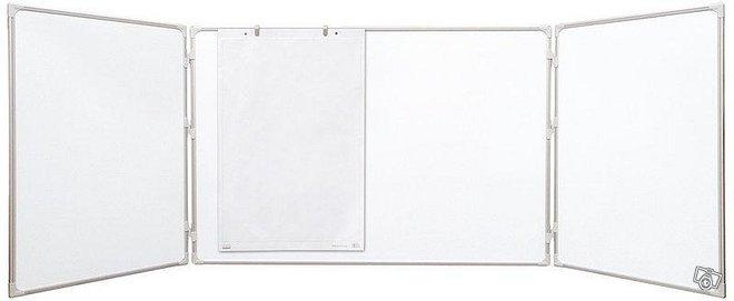 Valkotaulu - Siipitaulu 170x100cm / 340x100cm