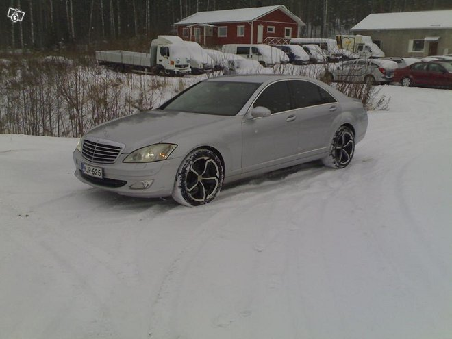 Mercedes-benz s 350 4d automaatti, käsiraha 1630