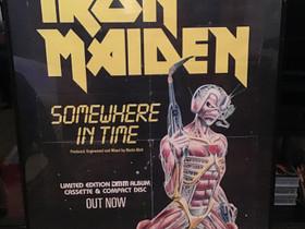 Alkuperäinen Iron Maiden juliste 80-luku, Muu keräily, Keräily, Turku, Tori.fi
