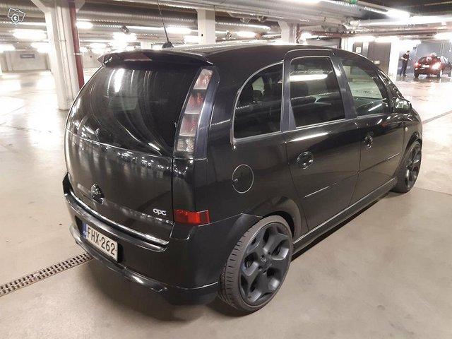 Opel Meriva 1.6 Turbo 180hv. Vm. 2007 5