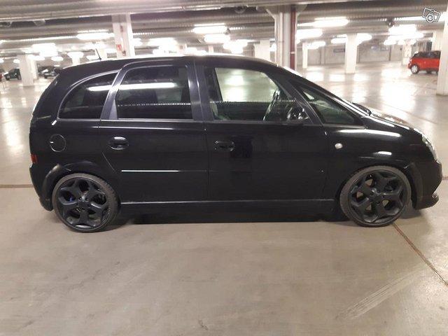 Opel Meriva 1.6 Turbo 180hv. Vm. 2007 4