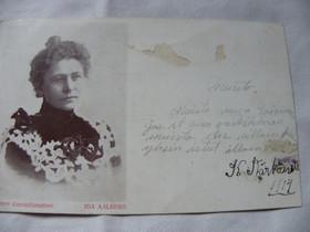 Ida Aalberg vanha postikortti v. 1914, Muu keräily, Keräily, Iisalmi, Tori.fi