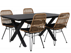 Rancho artwood pöytä + 4 Linnea tuolia (ovh 1135 e, Pihakalusteet ja grillit, Piha ja puutarha, Siilinjärvi, Tori.fi