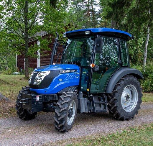 Solis 50 4WD Traktori ilmastoidulla hytillä