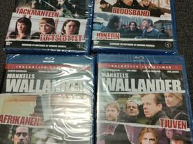 Wallander-elokuvia 14kpl Blu-ray, ei suomitekstejä, Elokuvat, Kontiolahti, Tori.fi