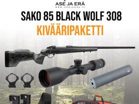 Sako 85 Black Wolf .308 kivääripaketti, Metsästys, Turku, Tori.fi