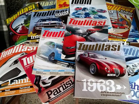 Tuulilasi lehtiä vuosilta 2008- 2010, Harrastekirjat, Kirjat ja lehdet, Akaa, Tori.fi