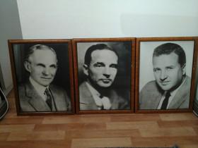 Henry & Edsel & Henry II, Ford:ien kuvat, Muu keräily, Keräily, Vantaa, Tori.fi