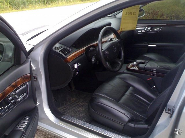 Mercedes-Benz s 350 4d automaatti, käsiraha 1410 8
