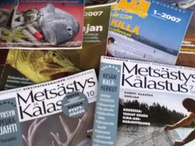 ERÄ- Lehdet ja 4 Metsästys ja Kalastus lehteä, Harrastekirjat, Kirjat ja lehdet, Akaa, Tori.fi