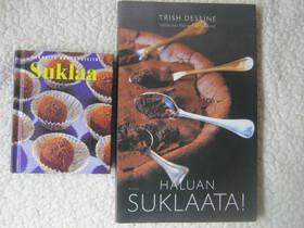 Suklaaherkut -kaksi kirjaa, Imatra/posti, Harrastekirjat, Kirjat ja lehdet, Imatra, Tori.fi