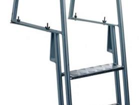 Laituritikkaat 4-askelmaa alumiinia, Työkalut, tikkaat ja laitteet, Rakennustarvikkeet ja työkalut, Varkaus, Tori.fi