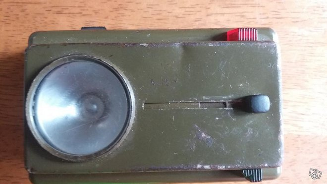 Armeijan taskulamppu