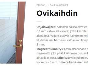 Ovisälekaihdin, Muu rakentaminen ja remontointi, Rakennustarvikkeet ja työkalut, Sotkamo, Tori.fi