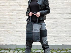 Piece Of Jeans -farkkukassi: musta/sininen, Laukut ja hatut, Asusteet ja kellot, Tampere, Tori.fi