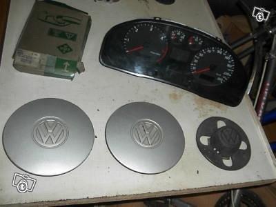 VW autojen osa rippeitä