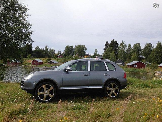 Porsche Cayenne EHKÄ vaihto M-P, As.vaunu, Paku 3
