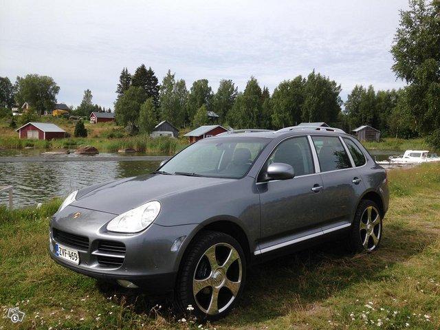 Porsche Cayenne EHKÄ vaihto M-P, As.vaunu, Paku 2