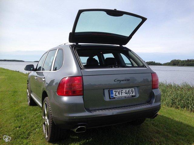 Porsche Cayenne EHKÄ vaihto M-P, As.vaunu, Paku 10