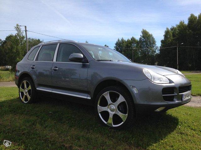 Porsche Cayenne EHKÄ vaihto M-P, As.vaunu, Paku 5