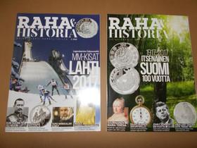 Raha & Historia -lehdet 2 kpl, Lehdet, Kirjat ja lehdet, Vaasa, Tori.fi