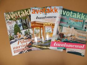 Avotakka -lehdet 3 kpl, Lehdet, Kirjat ja lehdet, Vaasa, Tori.fi