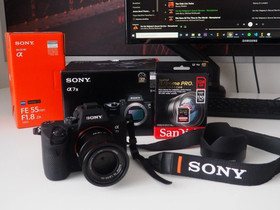 Sony A7 III + Carl Zeiss 55mm, F1.8, 35mm, Kamerat, Kamerat ja valokuvaus, Helsinki, Tori.fi