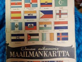 Maailmankartta, Muu keräily, Keräily, Raahe, Tori.fi