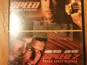 Speed 1 ja 2 dvdt, Elokuvat, Pori, Tori.fi
