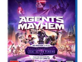 Agents of Mayhem PS4 Uusi, Pelikonsolit ja pelaaminen, Viihde-elektroniikka, Lahti, Tori.fi