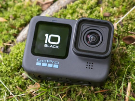 GoPro Hero 10 Black actionkamera lisäakuilla, Kamerat, Kamerat ja valokuvaus, Helsinki, Tori.fi