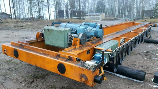 DEMAG siltanosturi 5 tonnia