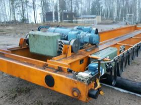 DEMAG siltanosturi 5 tonnia, Muut koneet ja tarvikkeet, Työkoneet ja kalusto, Luumäki, Tori.fi